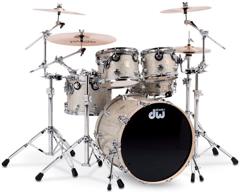 Drum Workshop Maple Collectors Drumkit Comes With